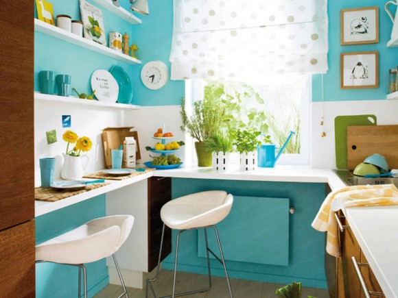 Small Kitchen Color Ideas