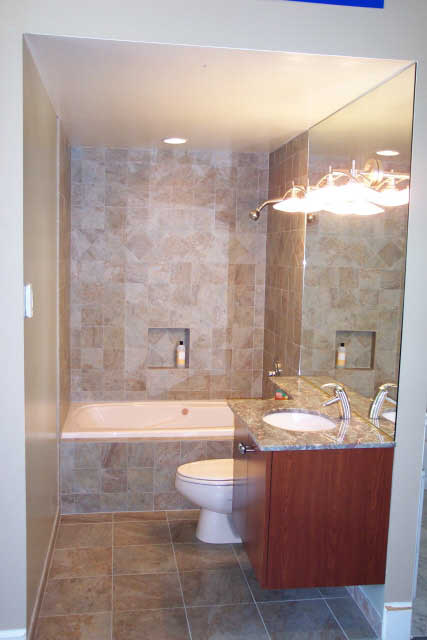 Efficient designs of small narrow bathroom ideas home for Small narrow bathroom ideas