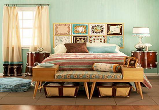 Vintage decorating Ideas Bedroom
