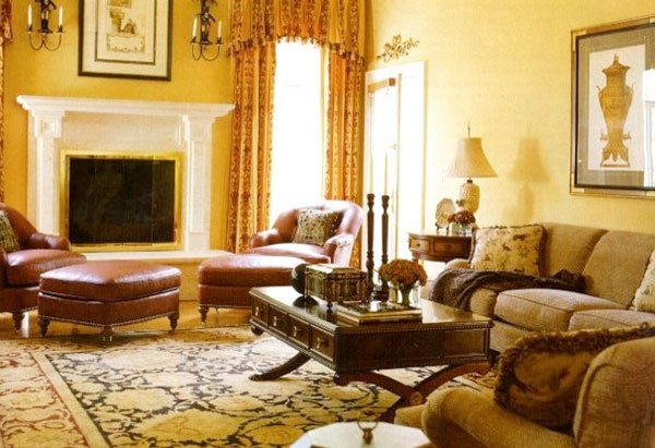 Warm inviting living room ideas home decor report for Warm living room decorating