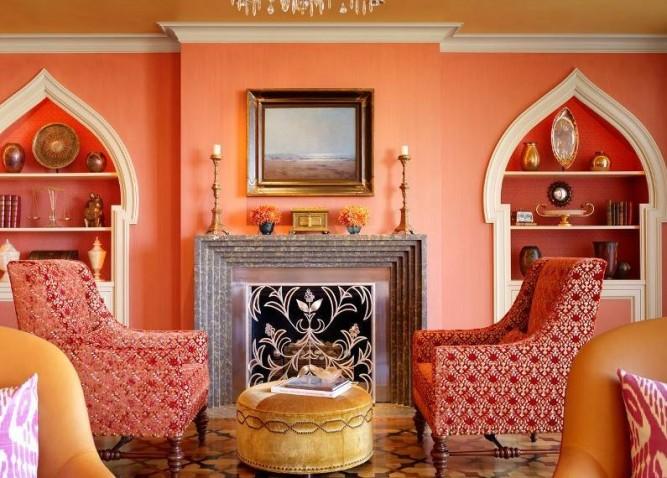Warm Living Room Decorating Ideas