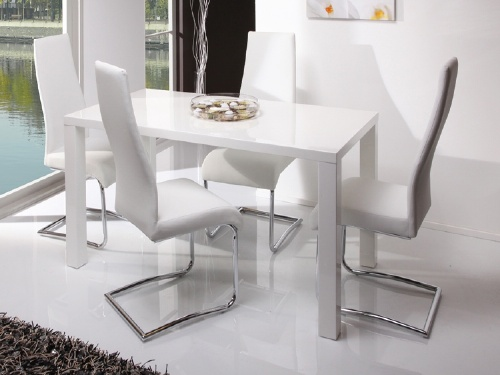 White Dining Chairs Modern