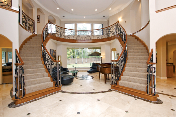 Homes with Two Staircases