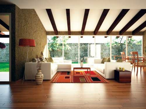 Living Room Ceiling Design 2012 Picture