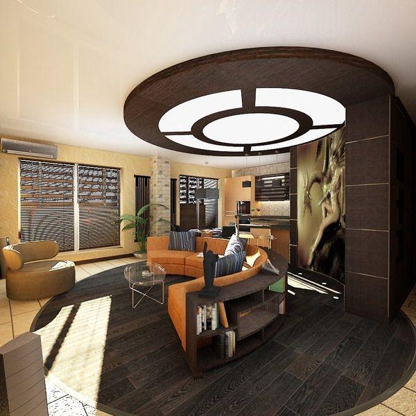Living Room Ceiling Design 2012