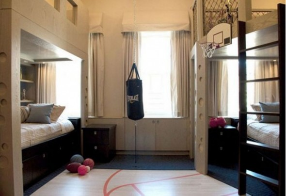 Young Mens Bedroom