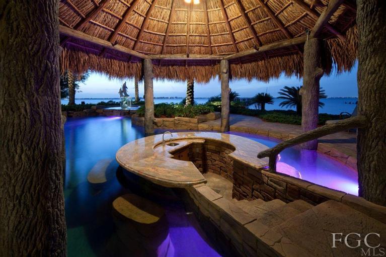Backyard Pool Bar Ideas Pic