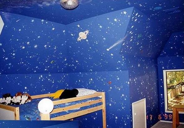 Children Bedroom Ceiling Pop Design