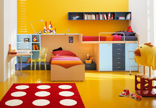 Colour Ideas for Kids Bedrooms