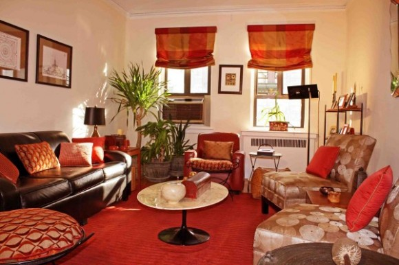 Warm Living Room Decorating Ideas With Colors And