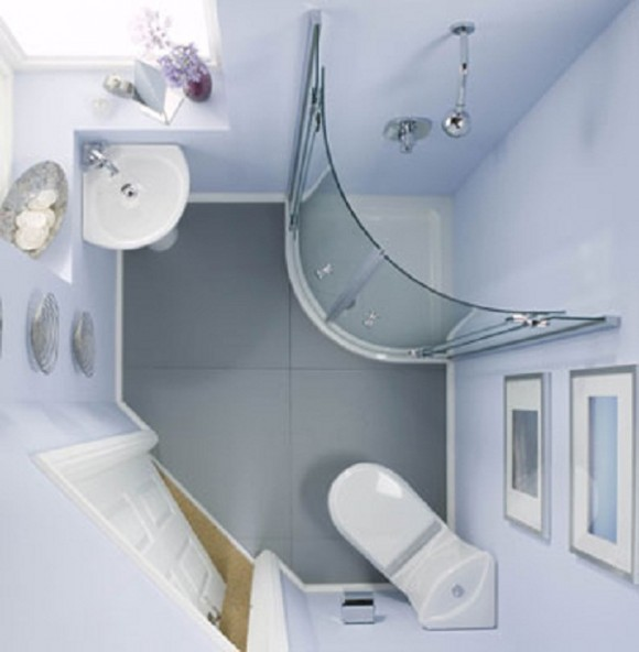 Designing Small Spaces Bathrooms