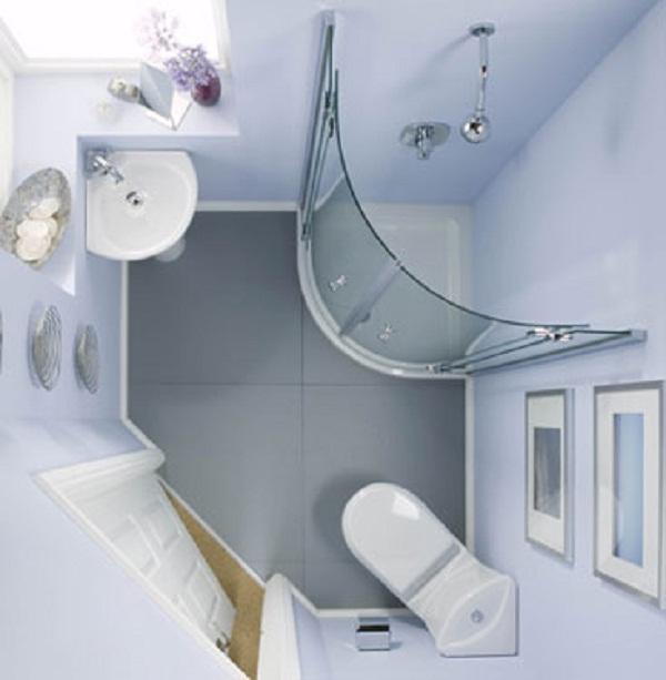 Designing Small Spaces Bathrooms