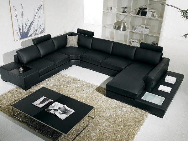 Interior Design Living Room Black and White