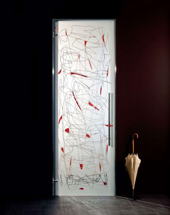 Interior Door Design Glass