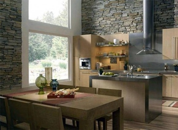 Interior Wall Cladding Ideas Wood And Stone Home Decor Report