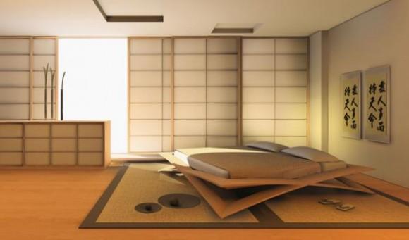 Japanese Interior Design Bedroom