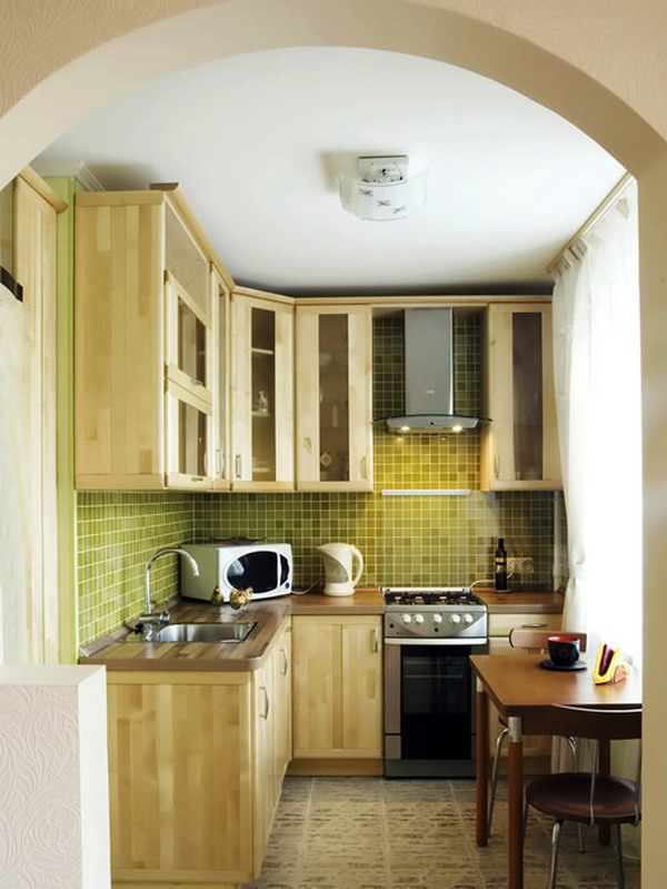Kitchen for small spaces home decor report for Small space modular kitchen designs