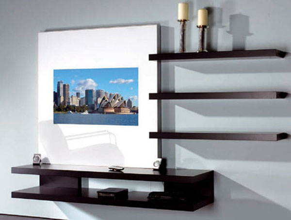 LCD TV Wall Cabinet Designs