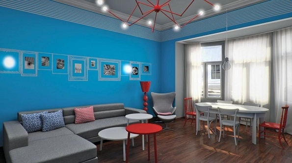 Living Room Paint Ideas Blue