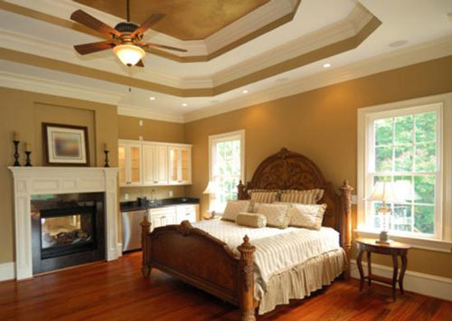 Modern False Ceiling Designs for Bedroom Pic