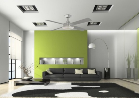 Modern False Ceiling Designs for Living Room Pic