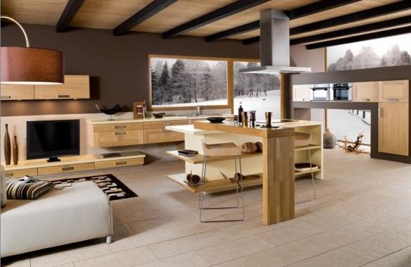 Modern French Kitchen Decor