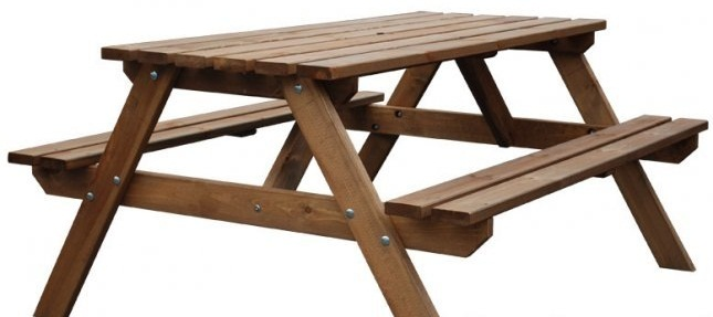Natural Wood Tables and Benches