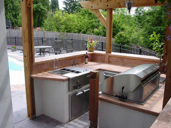 Outdoor Kitchen Small Spaces