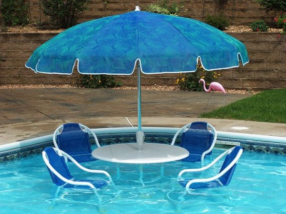 Patio Decorating Ideas Pool