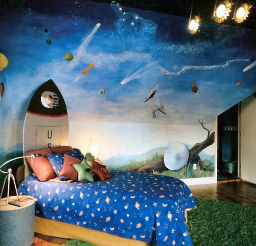 Space Boys Bedroom Ideas