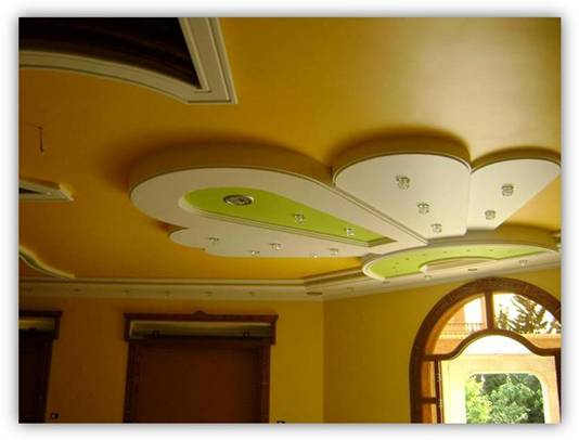 Pop False Ceiling Designs for Living Room India