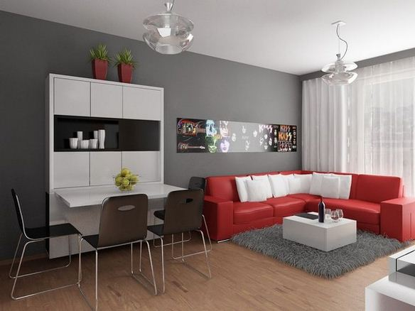 Small flat interior design ideas home decor report for Small flat interior