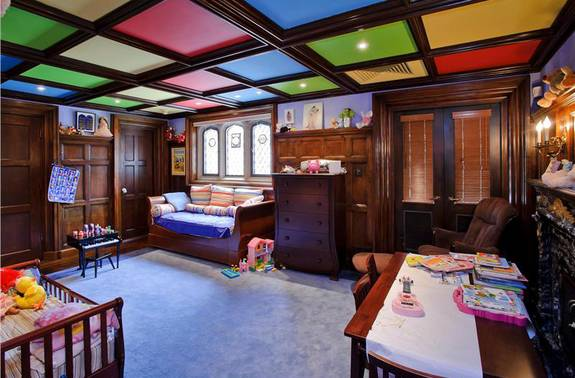 Pop Ceiling Designs for Kids Room.