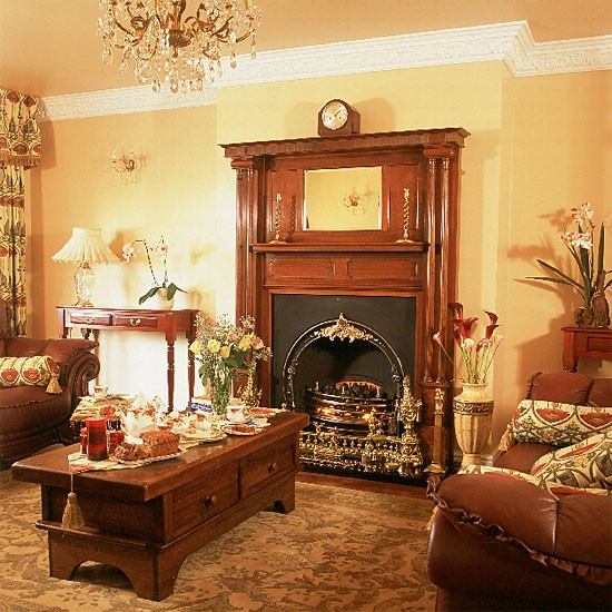 Warm living room decorating ideas with colors and for Warm living room decorating