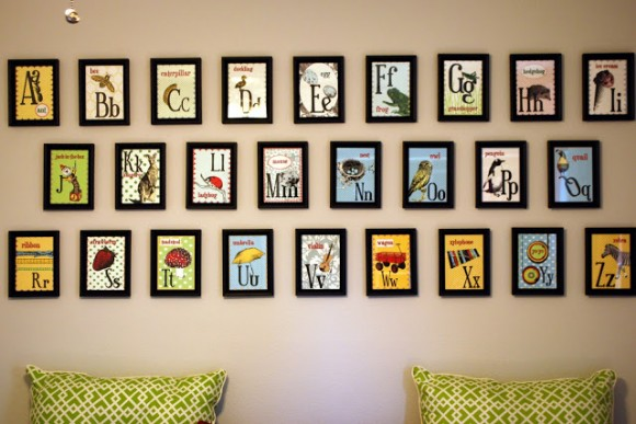 ABC Nursery Wall