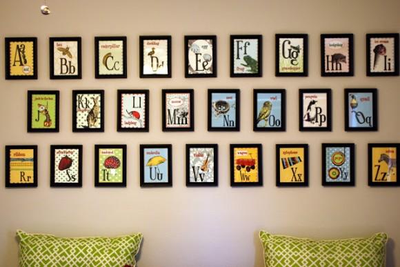 ABC Nursery Wall