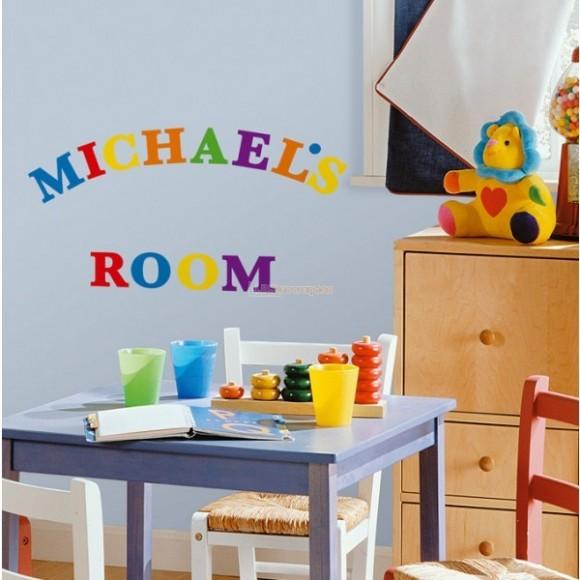 Alphabet Wall Nursery