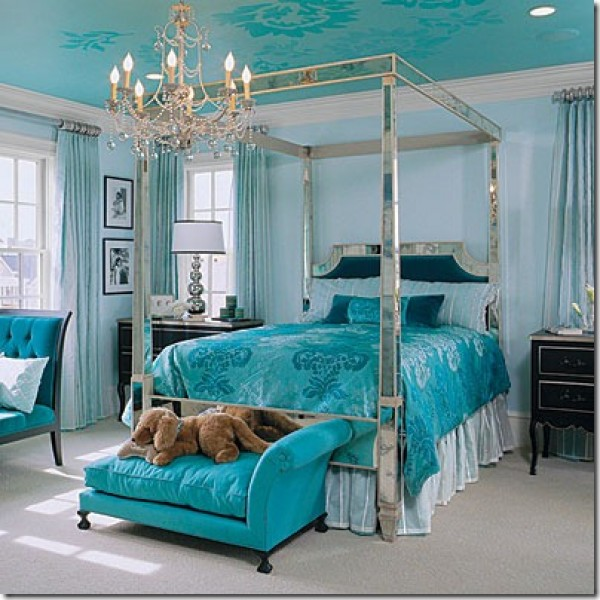 Bedroom Designs with Blue