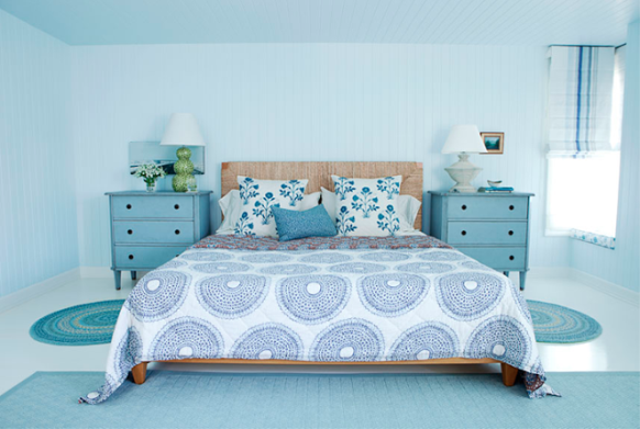Bright Aqua Bedrooms Photo