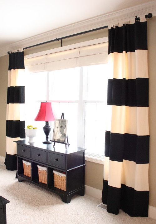 Perfect Black and White Striped Curtains 500 x 718 · 71 kB · jpeg