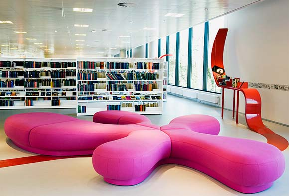 Modern Library Furniture Home Decor Report