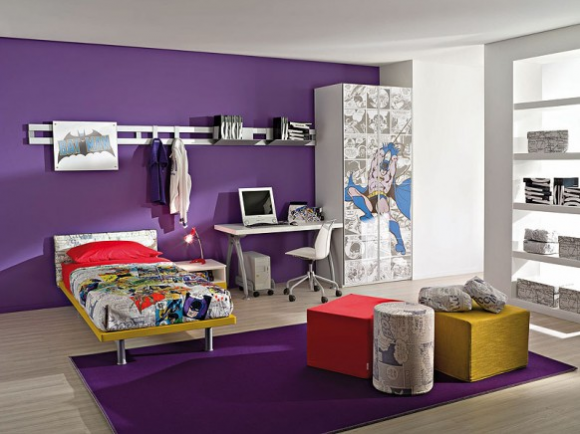 Purple Bedroom Ideas for Boys