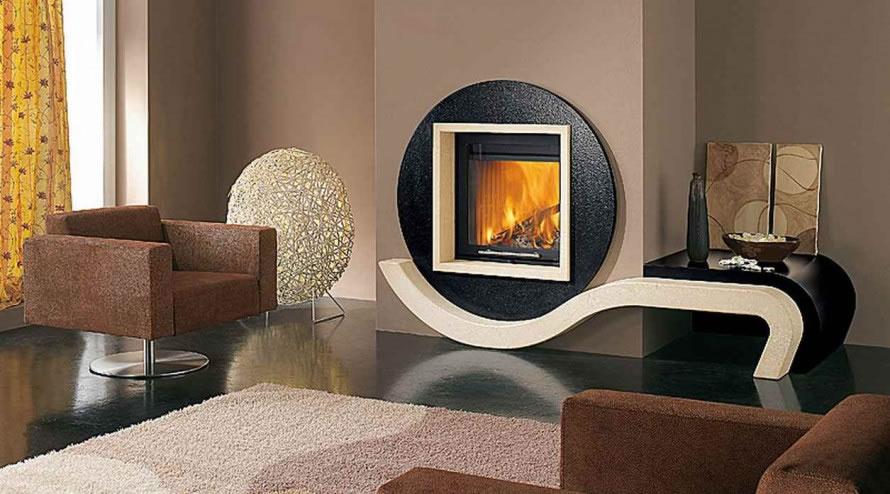 Luxury fireplace - Liberty Cladding