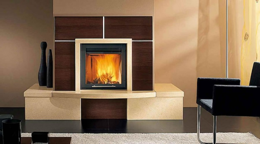 Luxury modern fireplace design