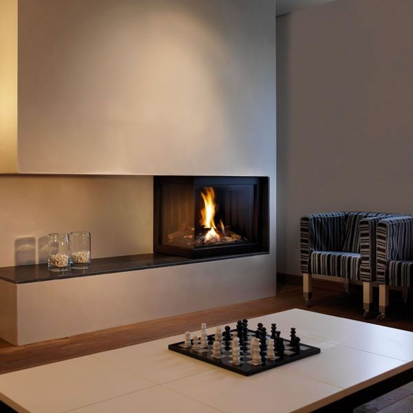 Modern fireplace by Attika Feuer