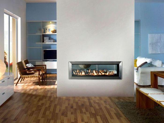 Modern fireplace design for room
